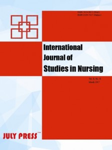 International Journal of Studies in Nursing