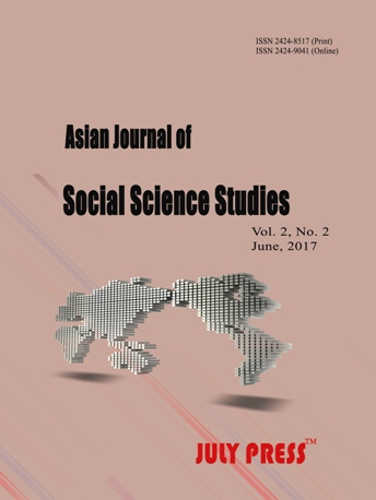 Asian Journal of Social Science Studies