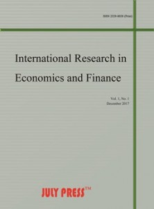 International Research in Economics and Finance